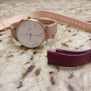 Fossil Q Hybrid Smartwatch Rose Gold w/Extra Bands